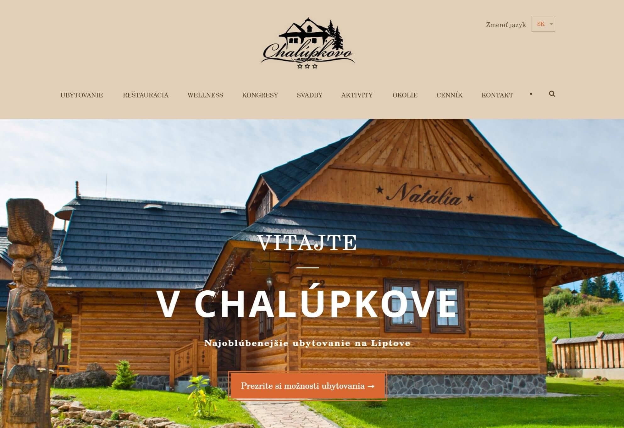 Webstranka Chalupkovo