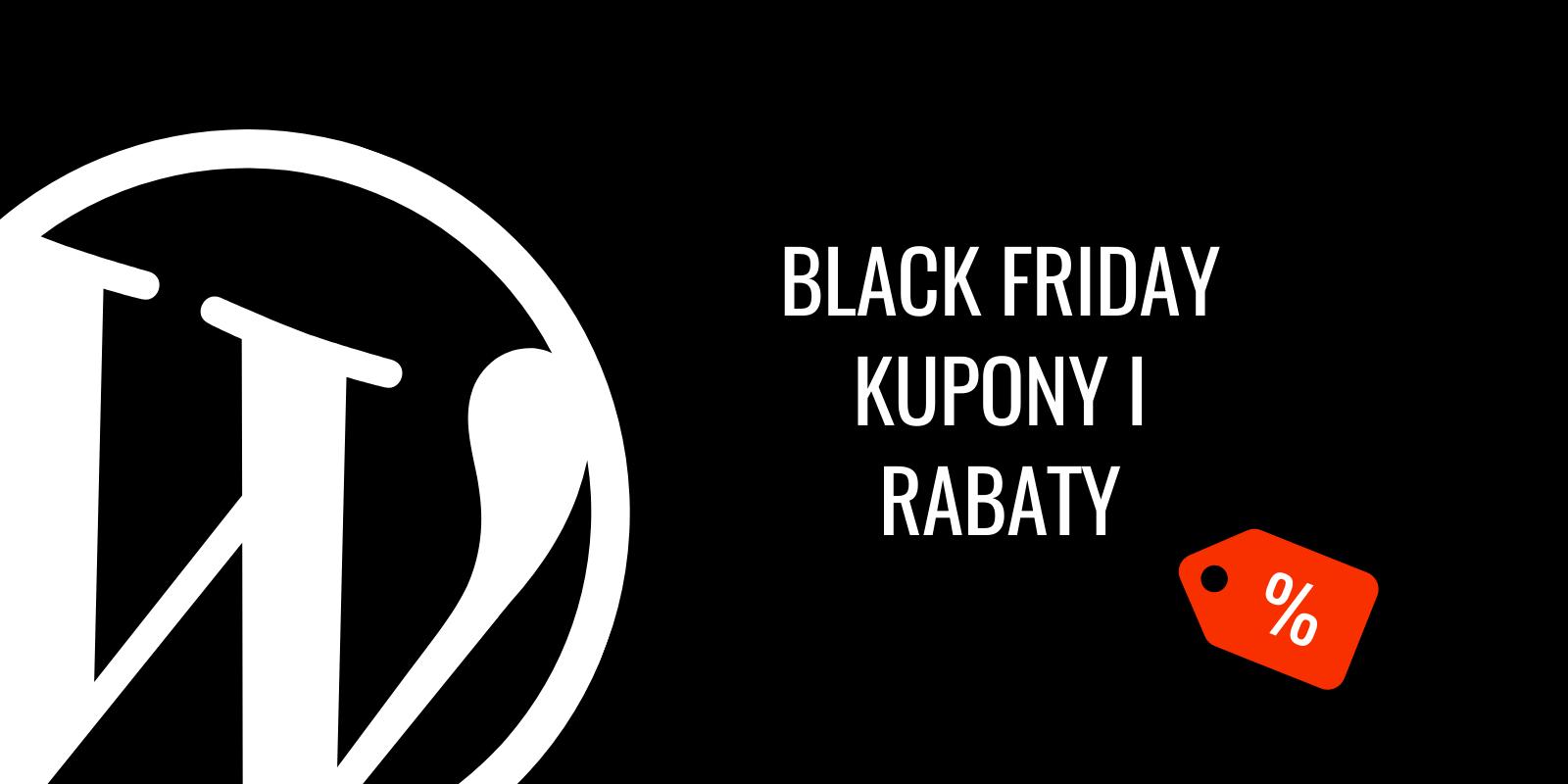 Black Friday 2019: kupony i rabaty w WordPress